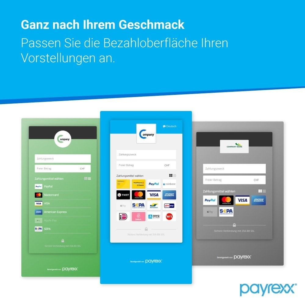 module - Zahlung per Kreditkarte oder Wallet - Payrexx Payment Gateway - 2
