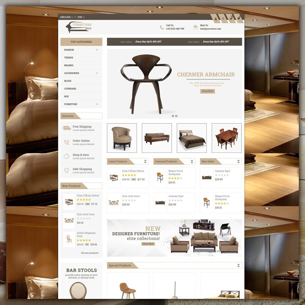 theme - Casa & Jardins - Furniture Shop - 2