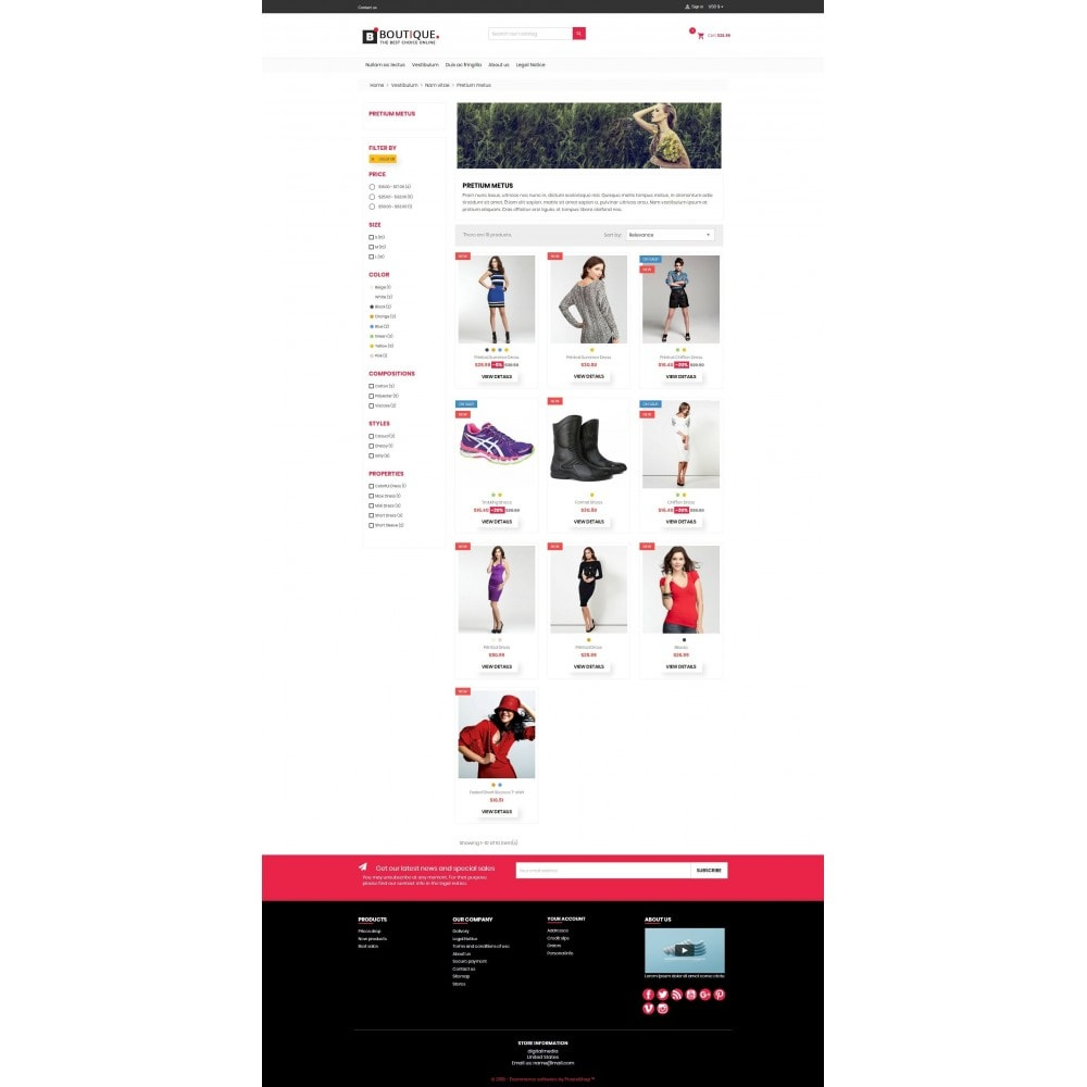 theme - Fashion & Shoes - Boutique Fashion Mutlipurpose Premium DFX006 - 3