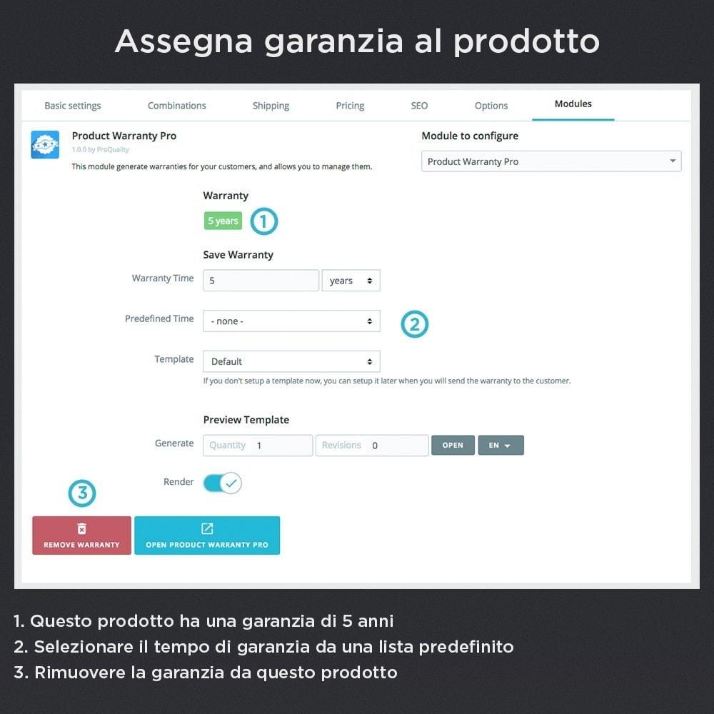module - Gestione Ordini - Garanzia del Prodotto Pro - 5