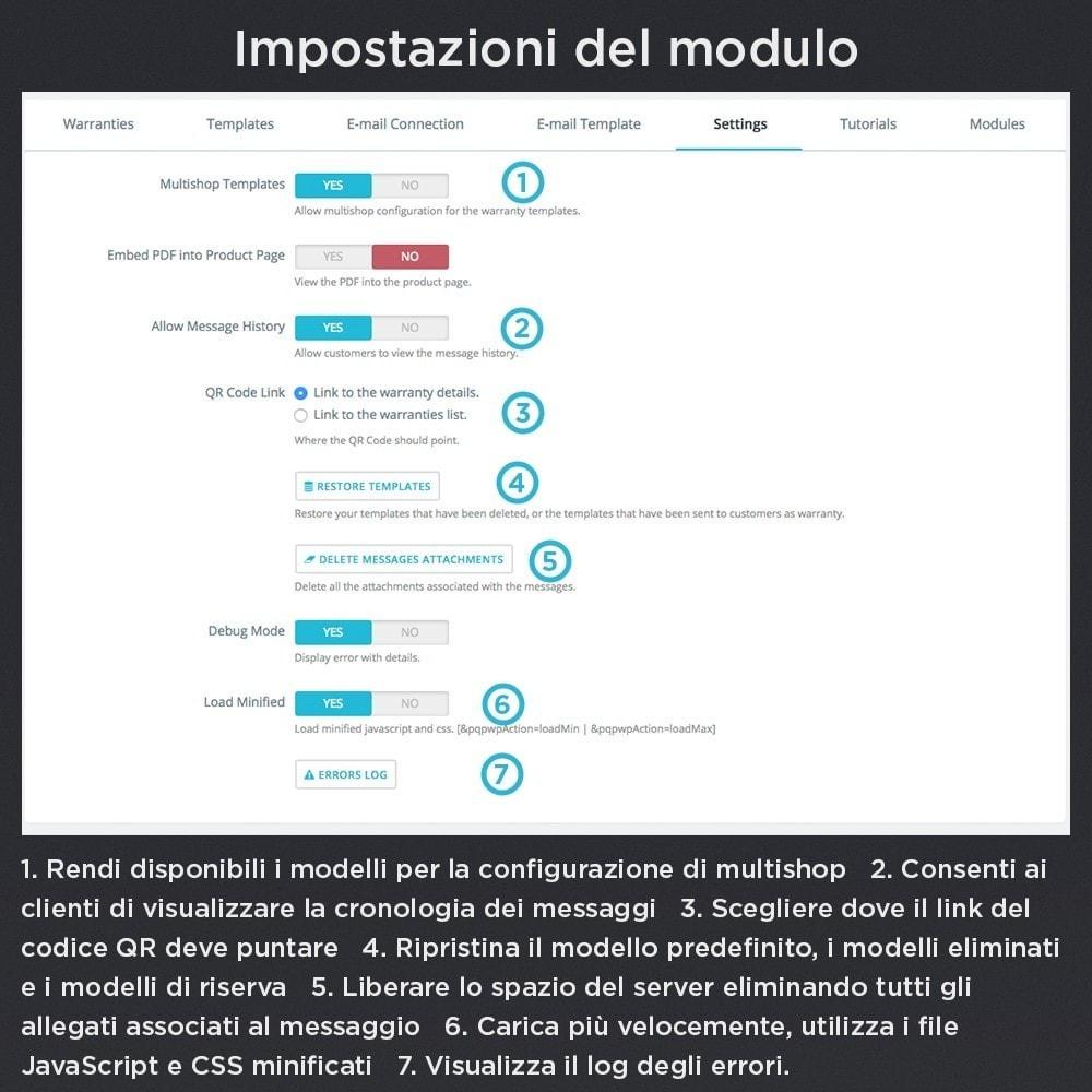 module - Gestione Ordini - Garanzia del Prodotto Pro - 23