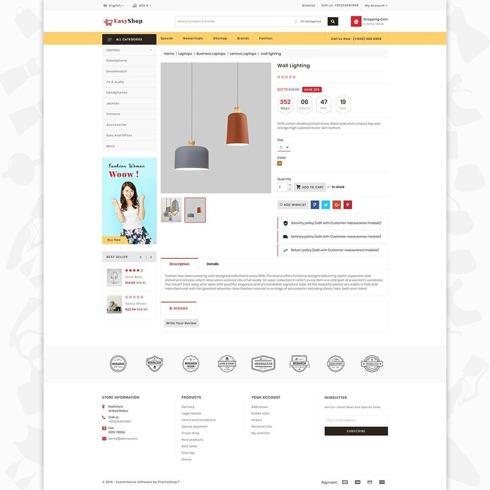 theme - Electrónica e High Tech - Easy shop - The Mega Ecommerce Store - 5