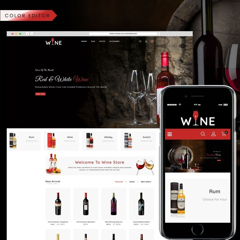 theme - Drink & Tobacco - Wine Store - 1