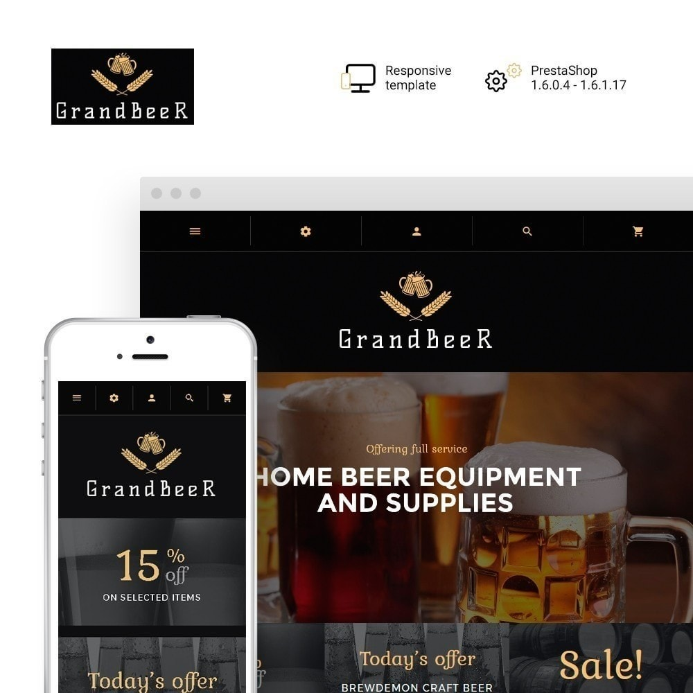 theme - Drink & Wine - GrandBeer - 2