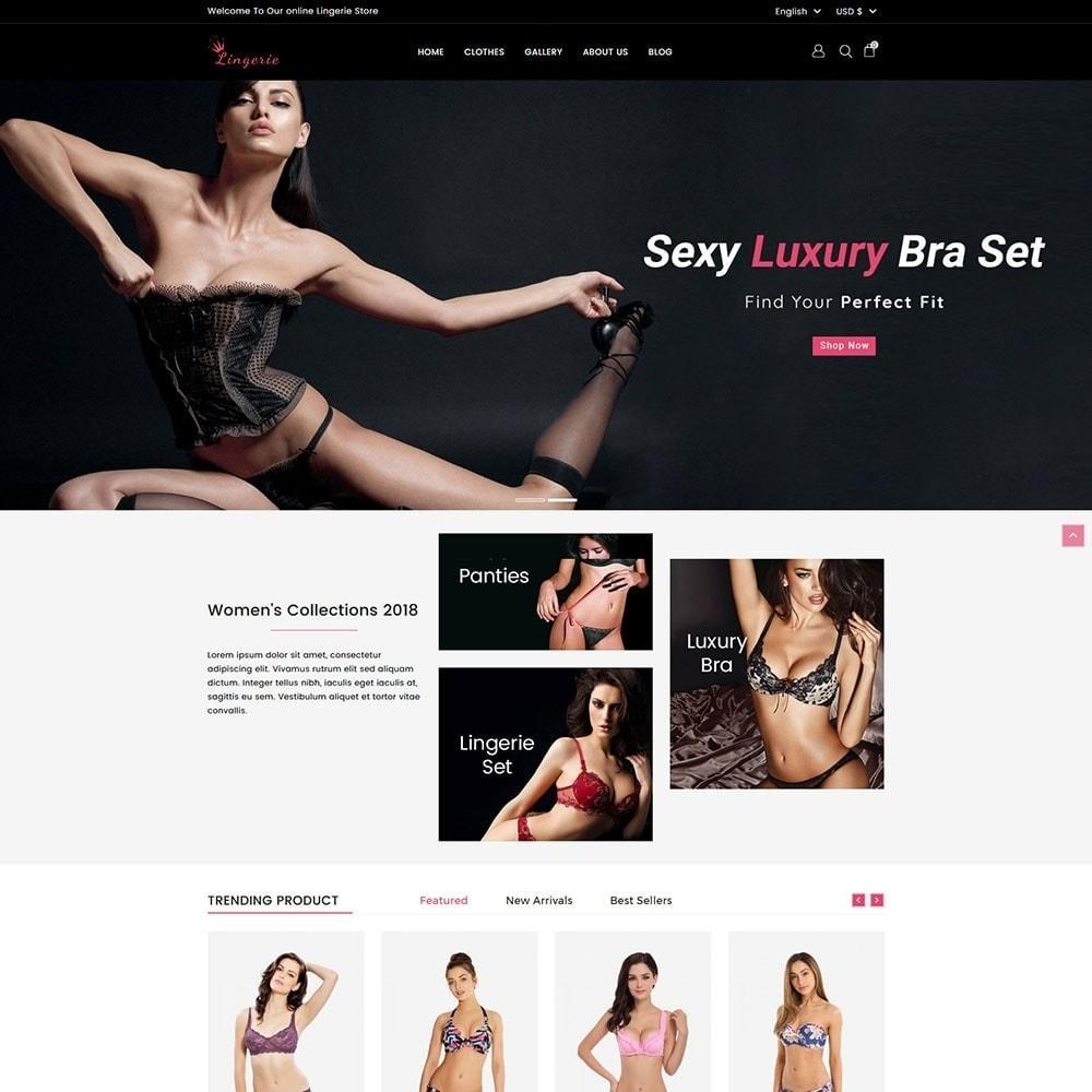 theme - Lingerie & Adulte - Lingerie Store - 2