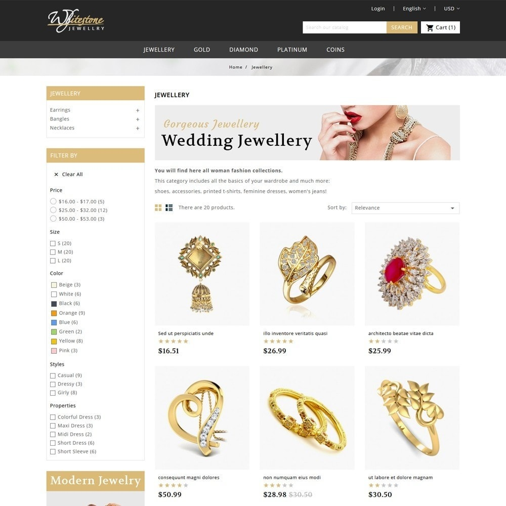 theme - Jewelry & Accessories - Whitestone Jewellery Store - 3