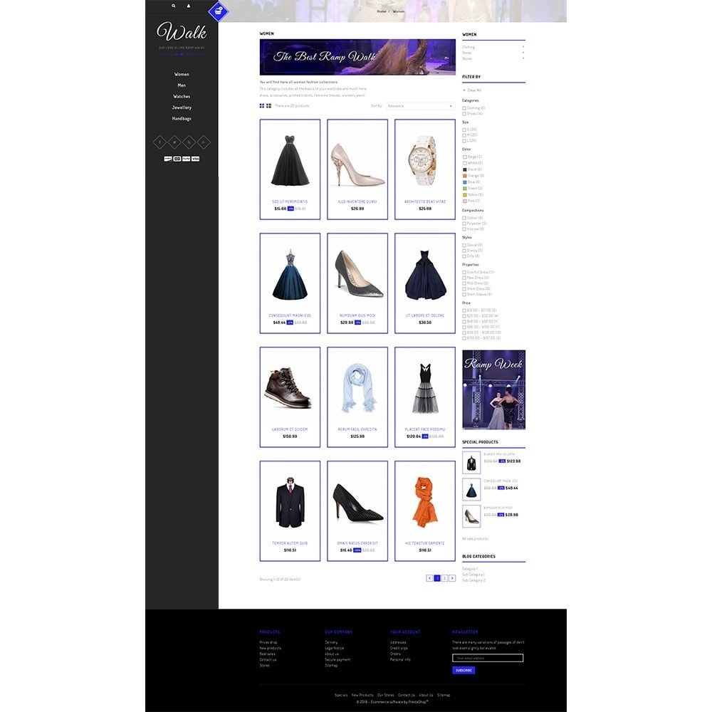 theme - Mode & Chaussures - Walk Store - 3