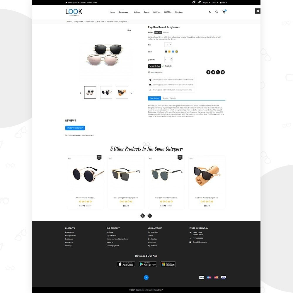 theme - Искусство и Культура - Look – Goggles Super Store - 4