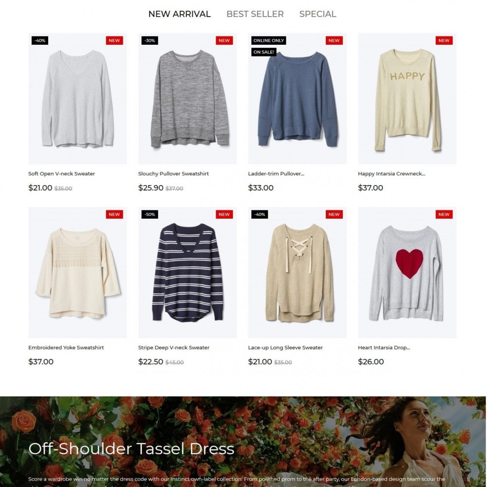 theme - Fashion & Shoes - OVStore Fashion Store - 3
