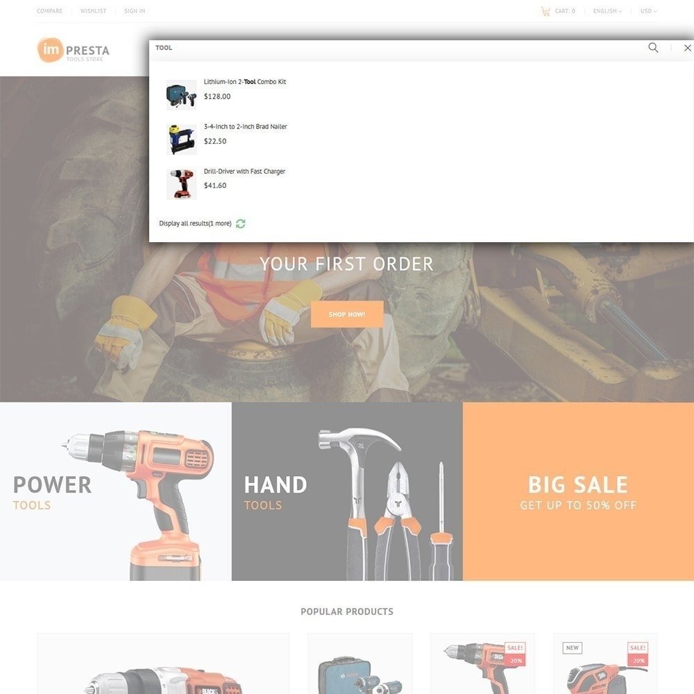 theme - Maison & Jardin - Impresta Tools - 7
