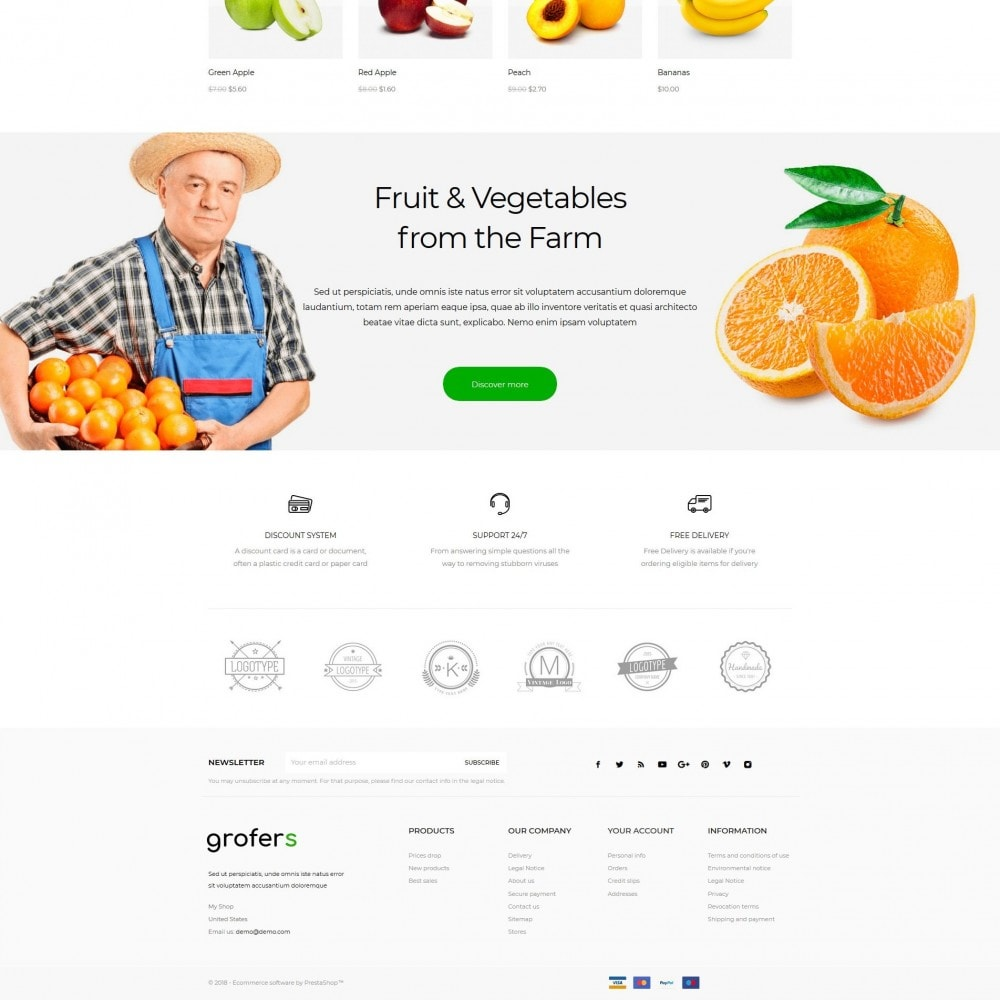 theme - Food & Restaurant - Grofers - 4