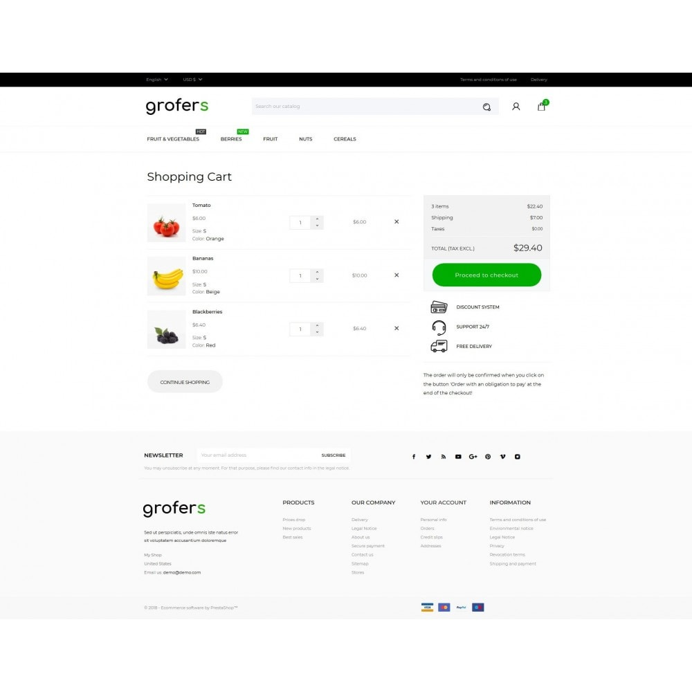 theme - Food & Restaurant - Grofers - 9
