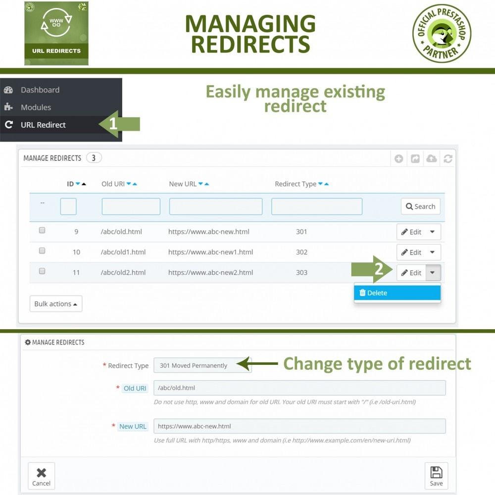 bundle - URL & Redirect - Pretty URLs + URL Redirects Manager -  Pack of 2 - 4