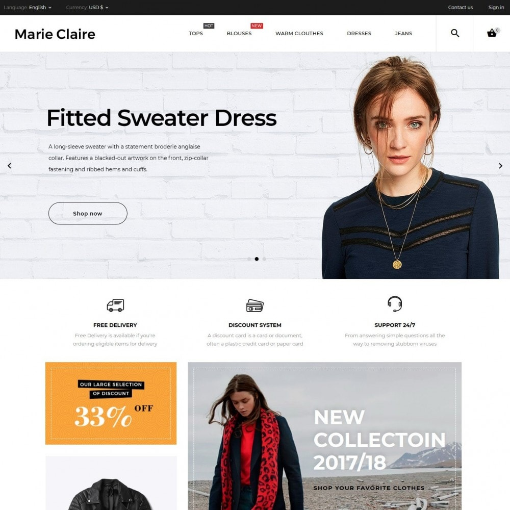 theme - Moda & Calzature - Marie Claire Fashion Store - 2