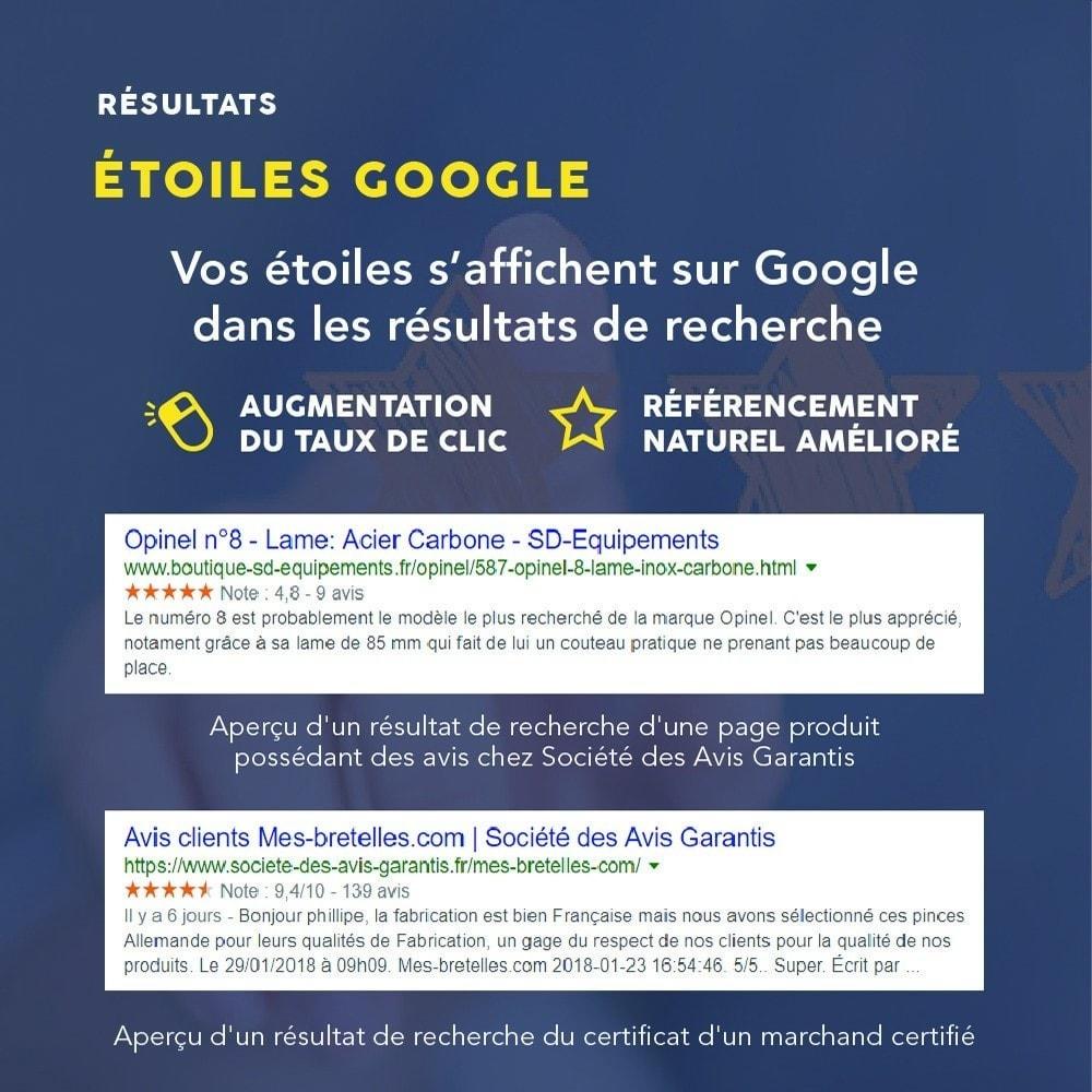 module - Avis clients - Avis clients - Société des Avis Garantis - 15