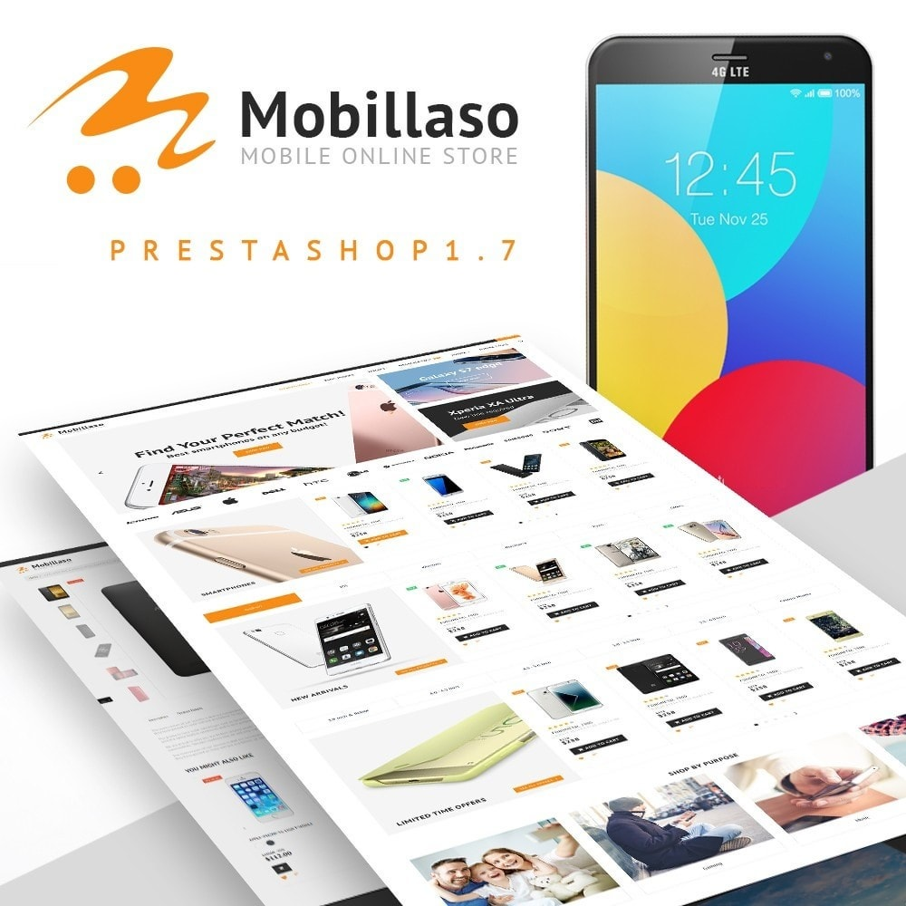 theme - Electronics & Computers - Mobillaso - Mobile Store - 2
