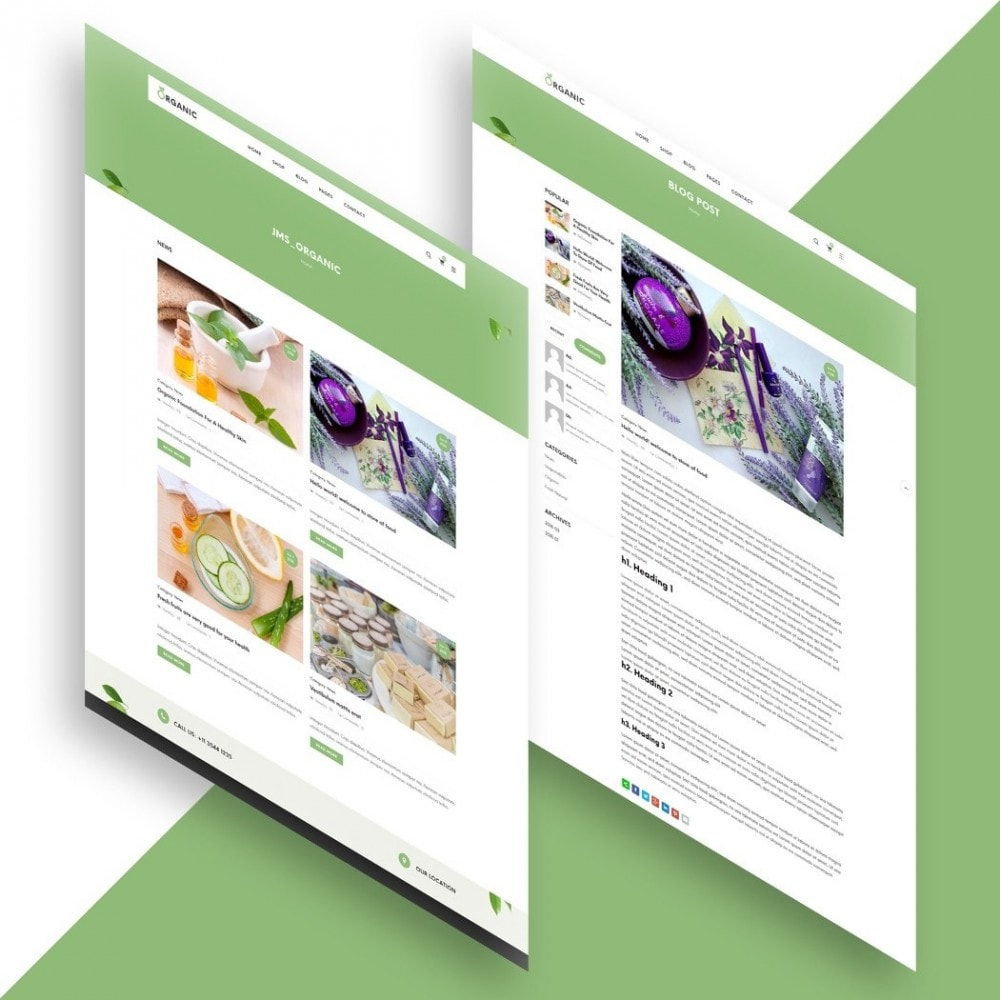 theme - Alimentation & Restauration - Organic Shop - 5