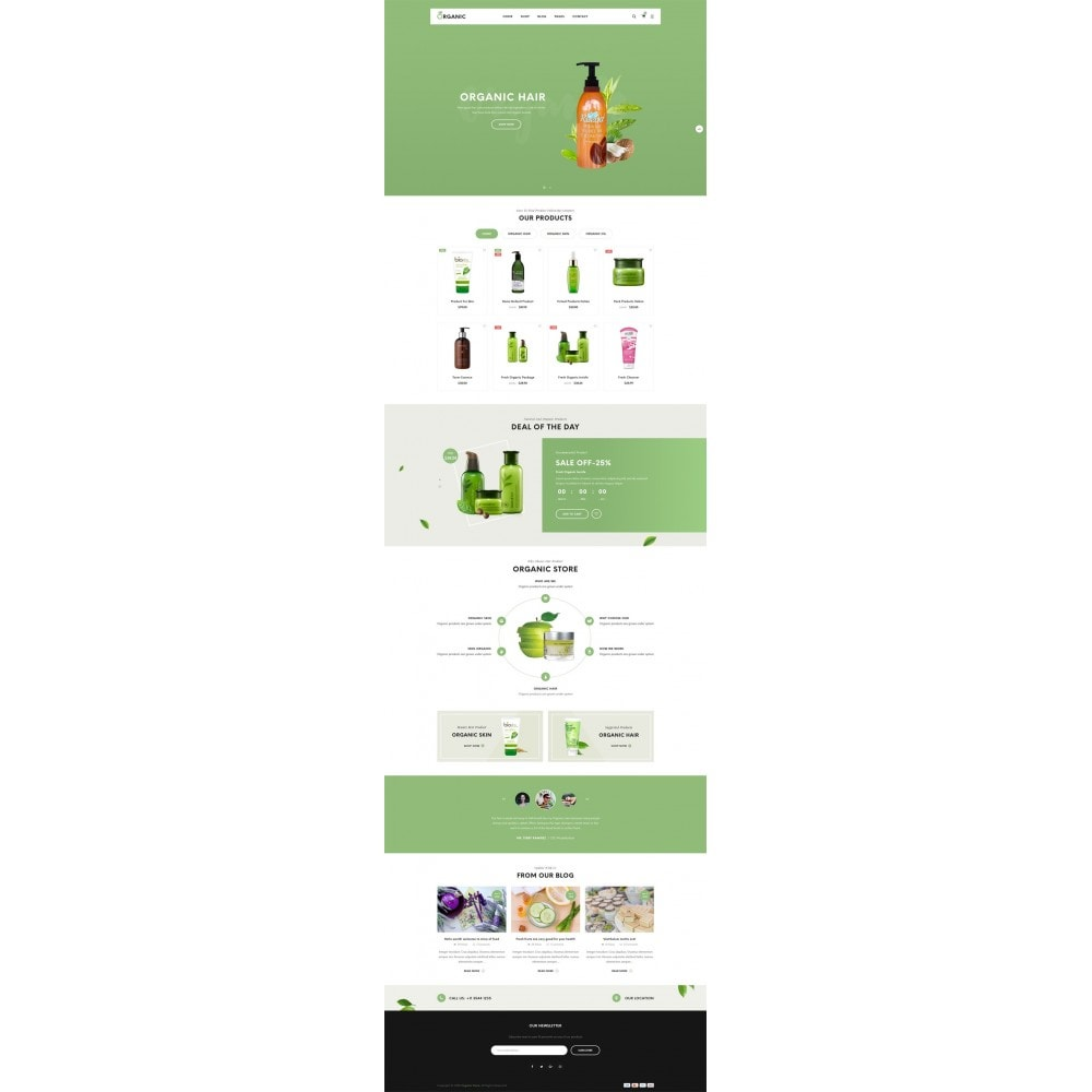 theme - Alimentation & Restauration - Organic Shop - 7