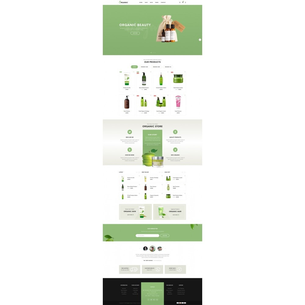 theme - Eten & Restaurant - Organic Shop - 8