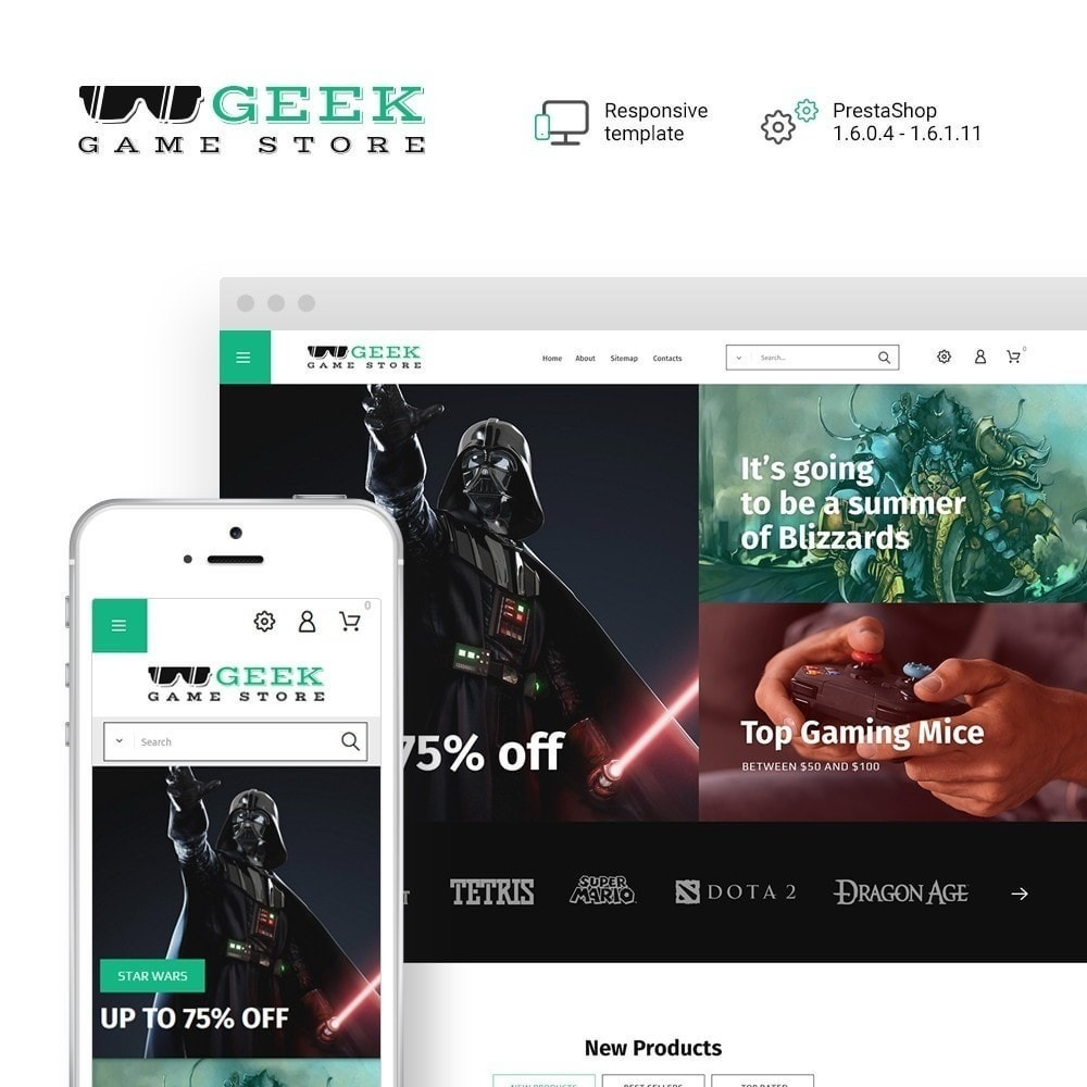theme - Electrónica e High Tech - Geek - Game Store - 2
