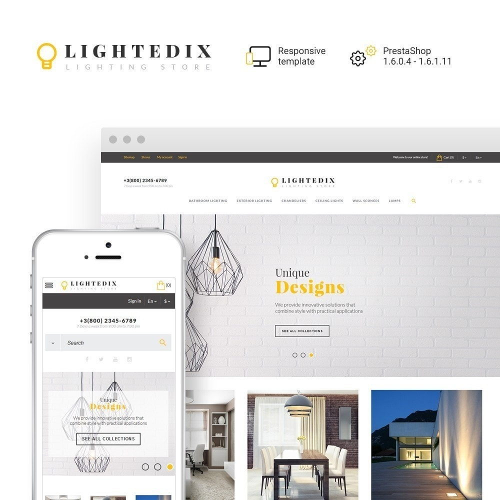 theme - Maison & Jardin - Lightedix - Lighting Store - 2