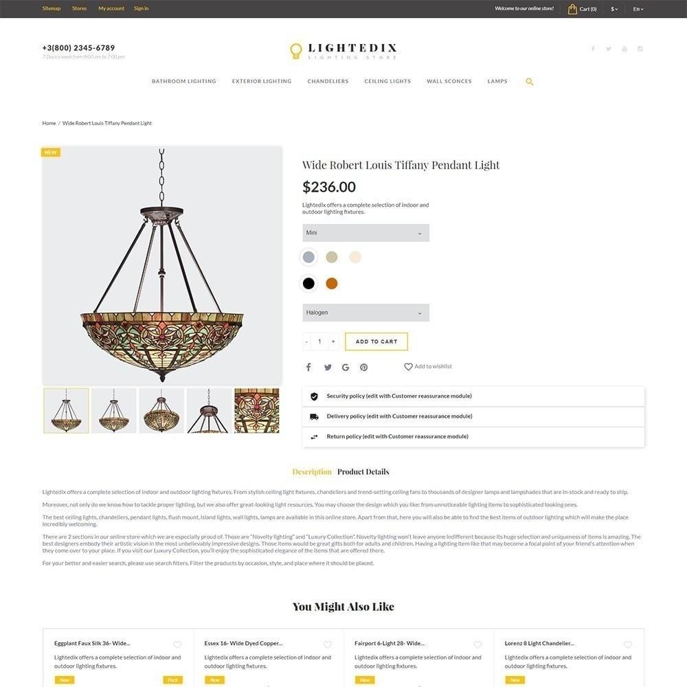 theme - Дом и сад - Lightedix - Lighting Store - 4