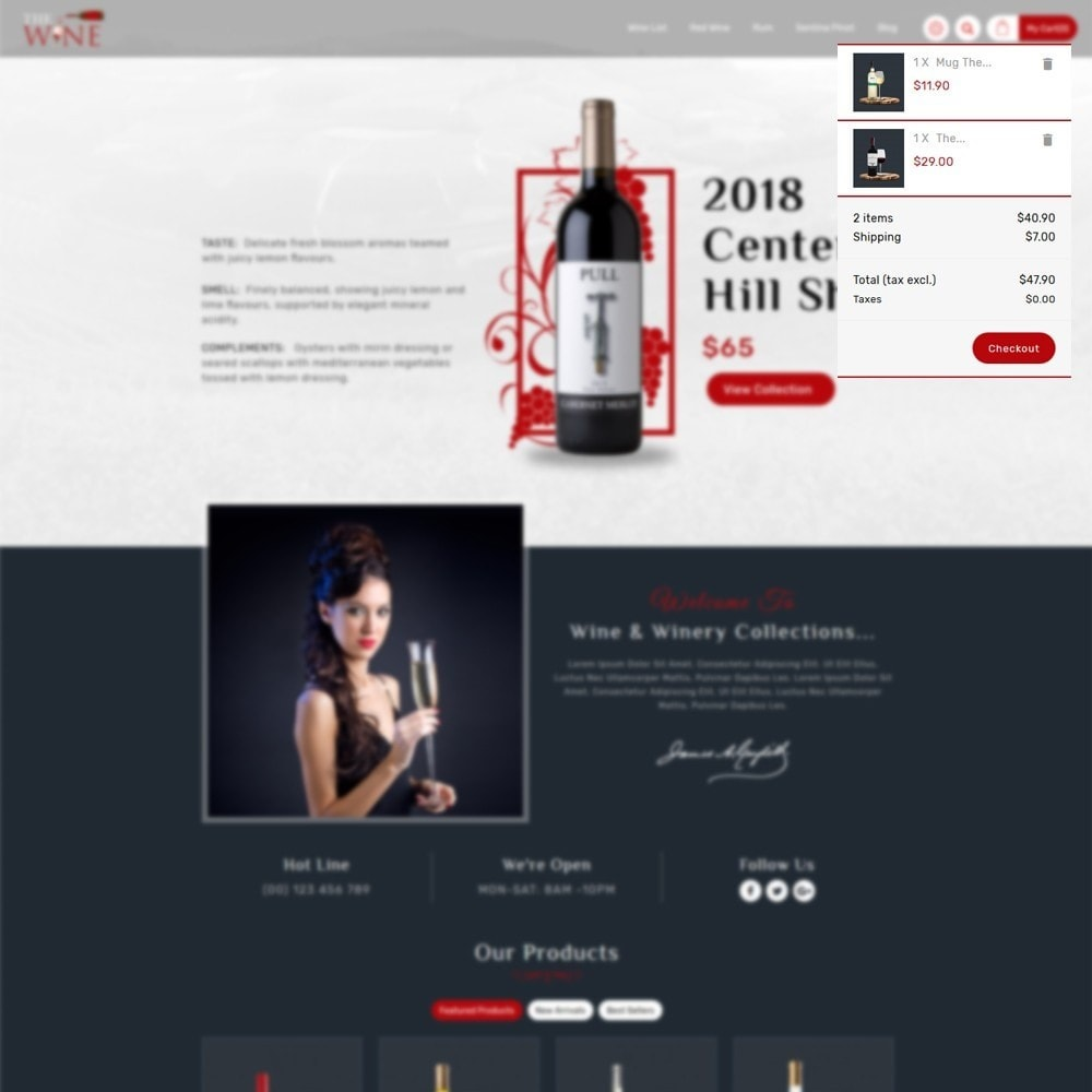 theme - Drink & Wine - TheWine - Wine Store - 7