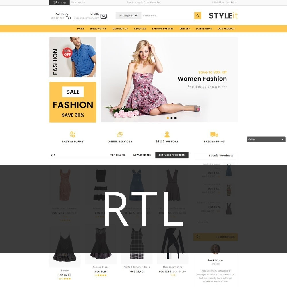 theme - Mode & Schoenen - Styleit Fashion Store - 3