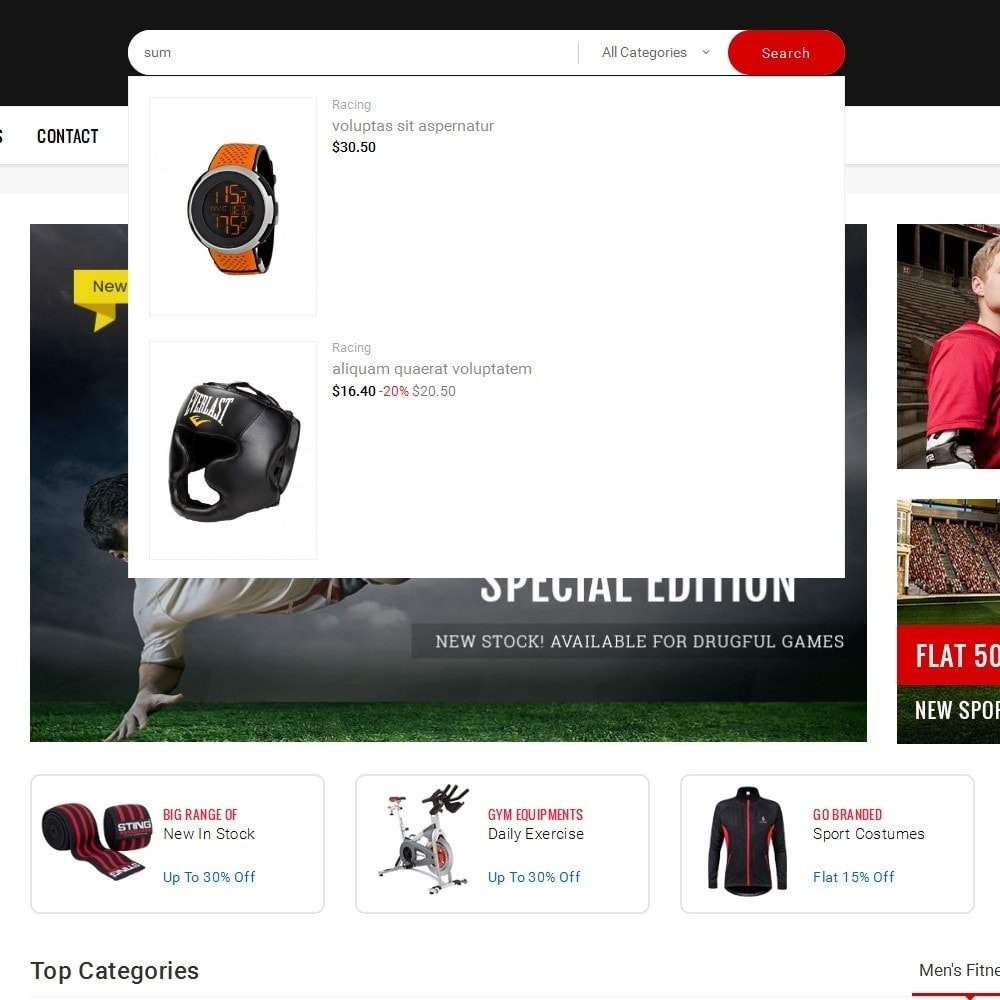 theme - Спорт и Путешествия - Mega Shoppe Sports - 10