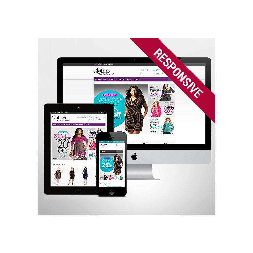 theme - Mode & Schuhe - Store for Puffy Ladies - 1