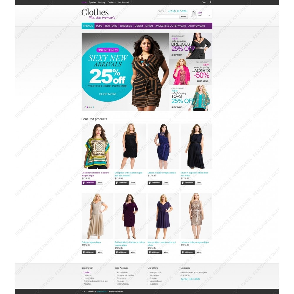 theme - Mode & Schuhe - Store for Puffy Ladies - 6