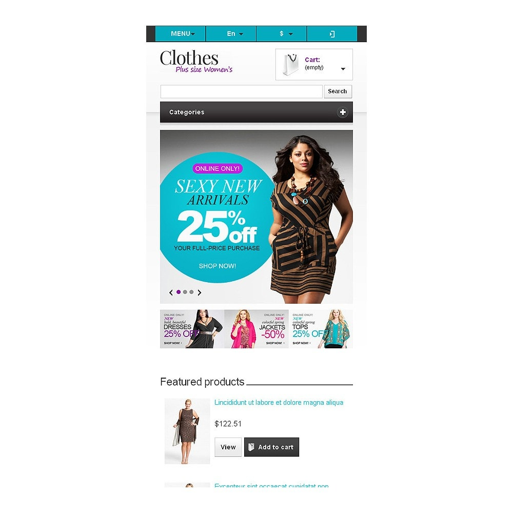 theme - Mode & Schuhe - Store for Puffy Ladies - 9