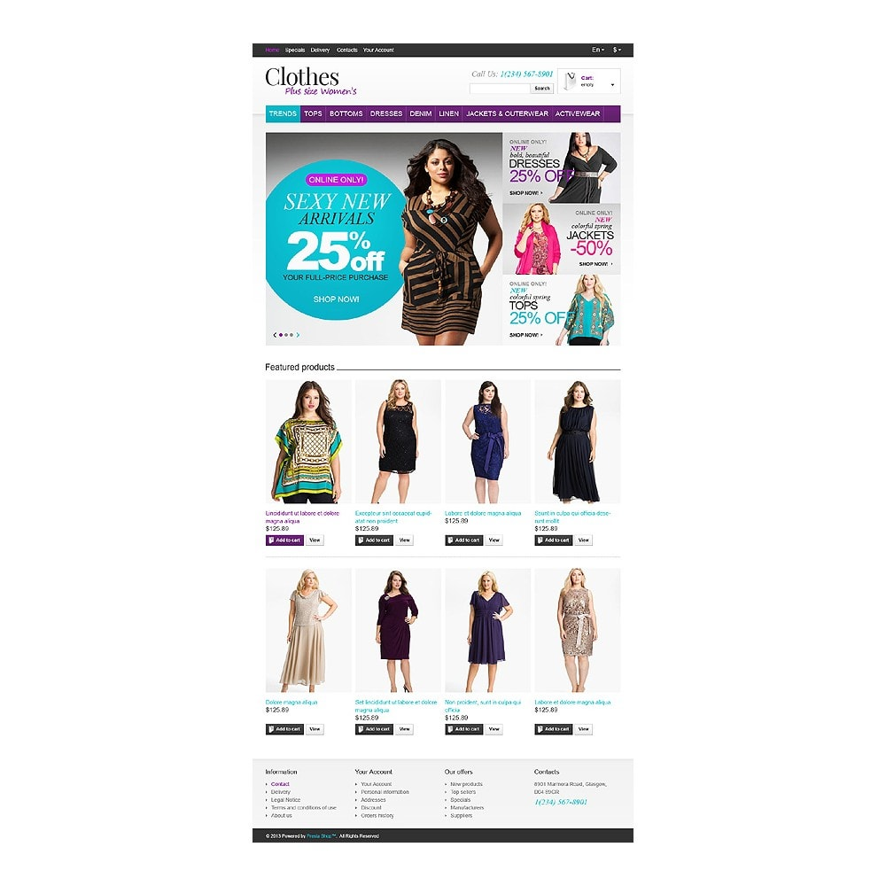 theme - Mode & Schuhe - Store for Puffy Ladies - 11