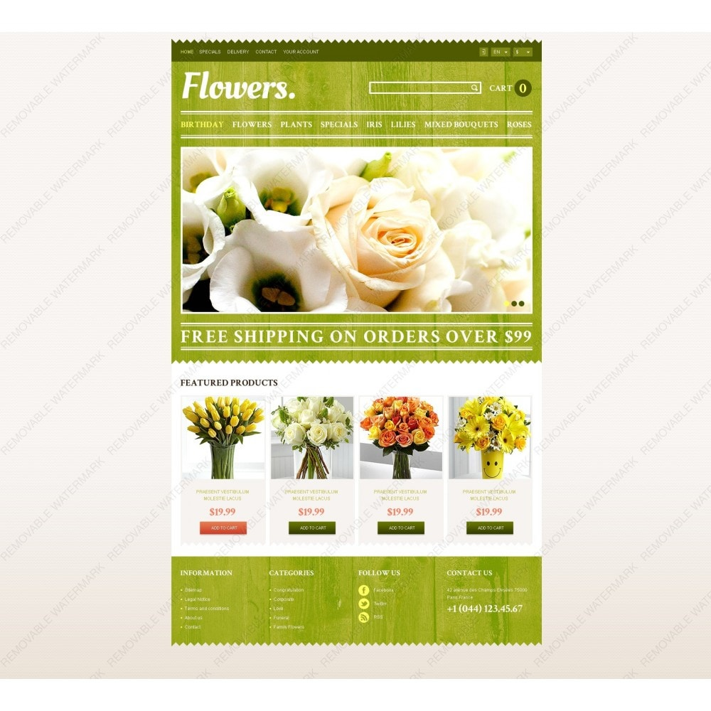 theme - Gifts, Flowers & Celebrations - Responsive Flowers Store - 6