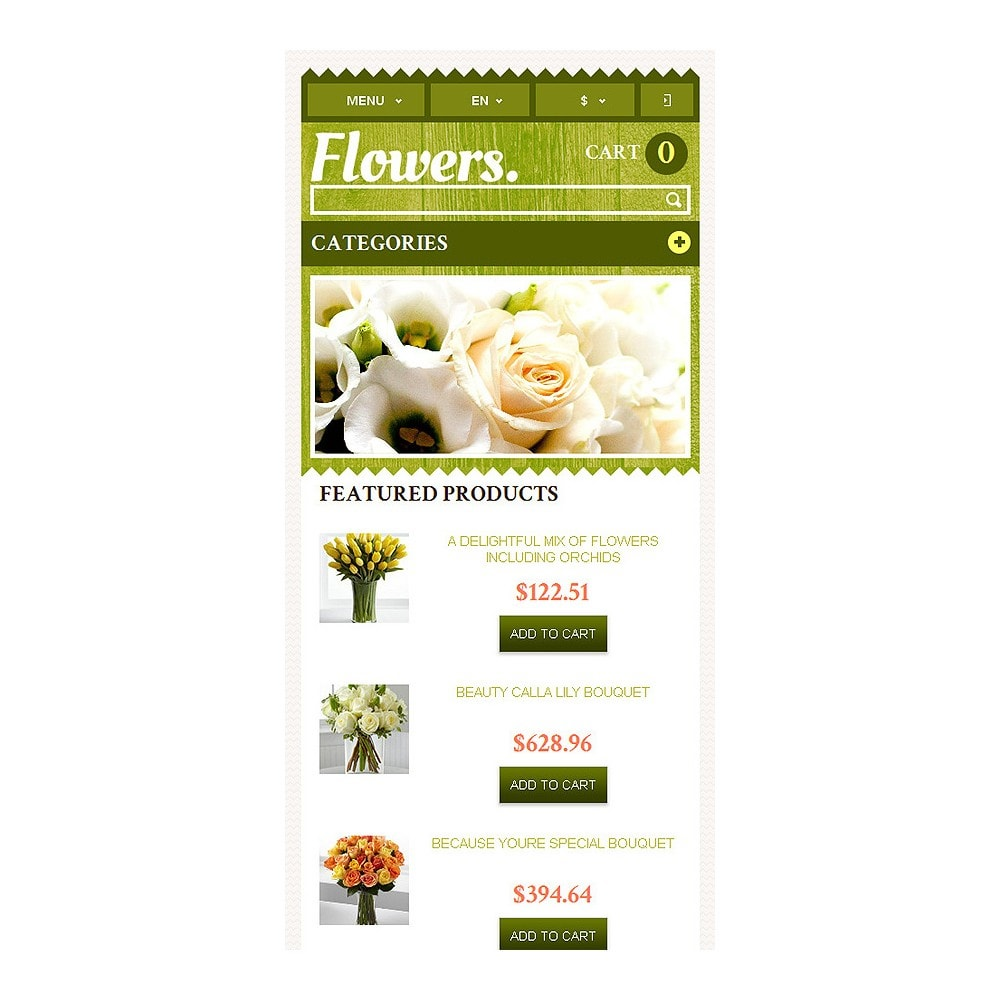 theme - Gifts, Flowers & Celebrations - Responsive Flowers Store - 9