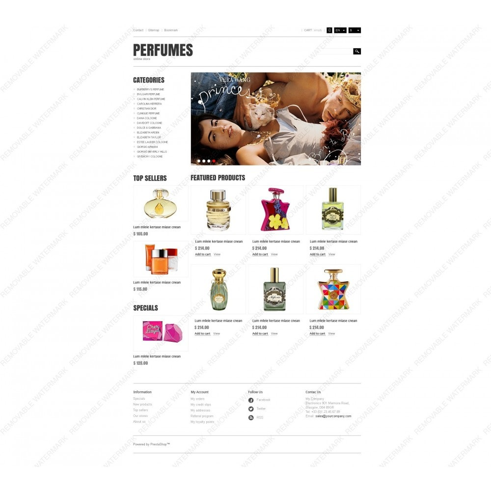 theme - Мода и обувь - Responsive Perfumes Store - 6