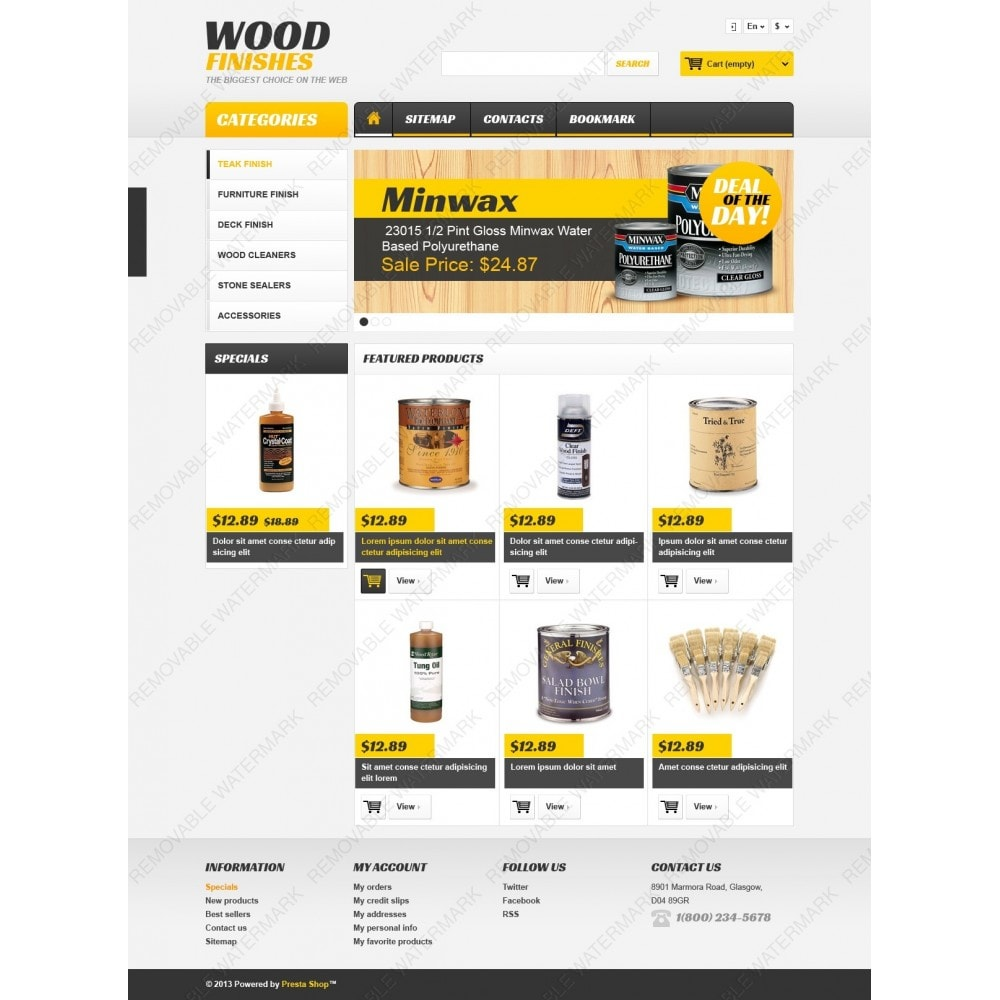 theme - Arte e Cultura - Wood Finishes Store - 4