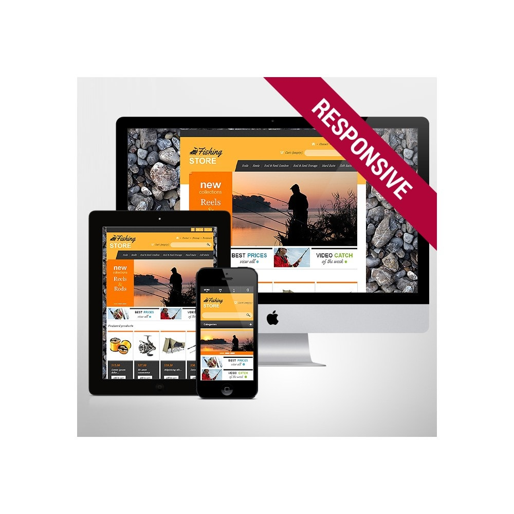 theme - Sports, Activities & Travel - Responsive Fishing Shop - 1