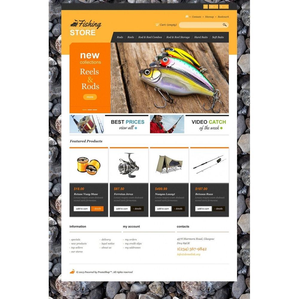 theme - Sport, Aktivitäten & Reise - Responsive Fishing Shop - 5