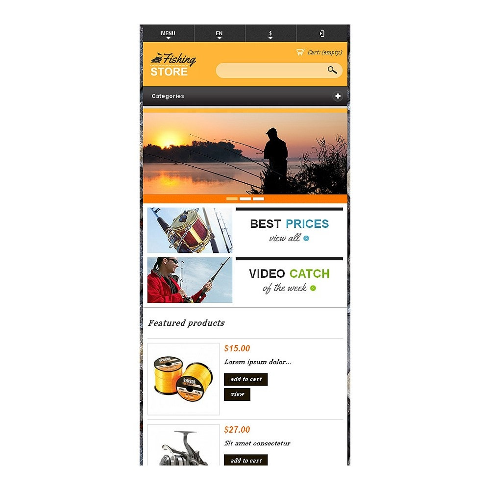theme - Sports, Activities & Travel - Responsive Fishing Shop - 9