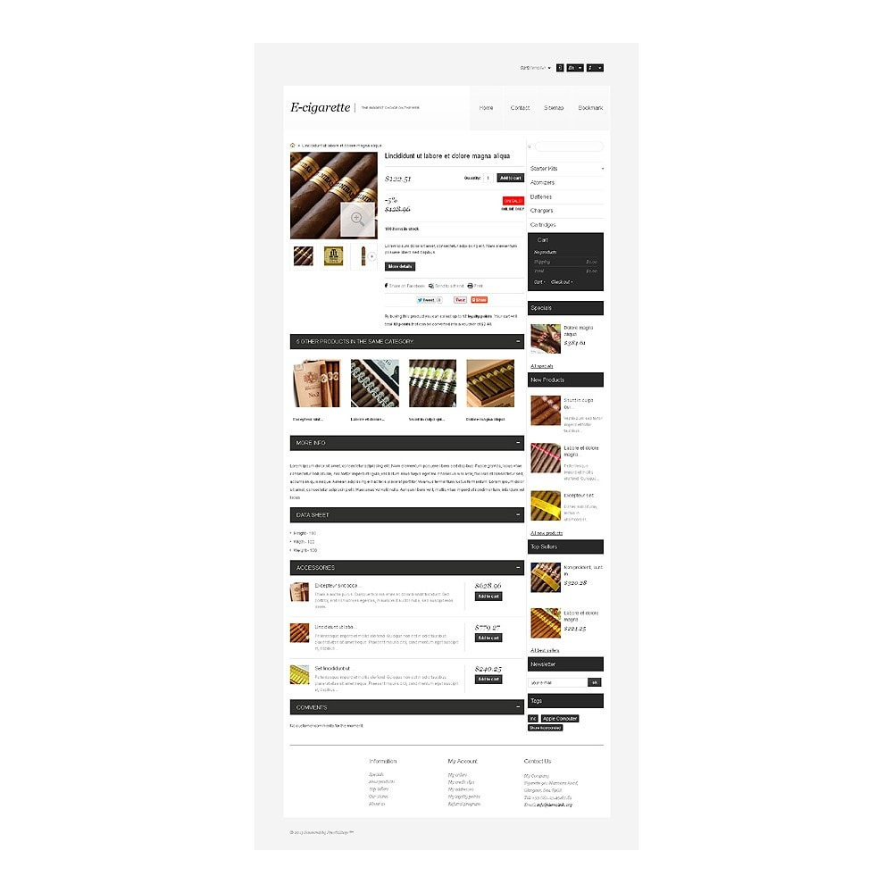 theme - Дом и сад - Electronic Cigarettes Store - 7