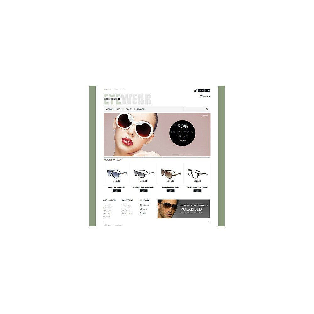 theme - Moda & Calzature - Responsive Eyewear Store - 11