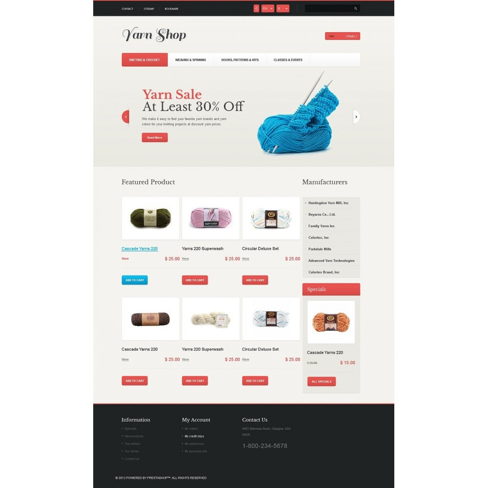 theme - Enfants & Jouets - Responsive Yarn Shop - 5