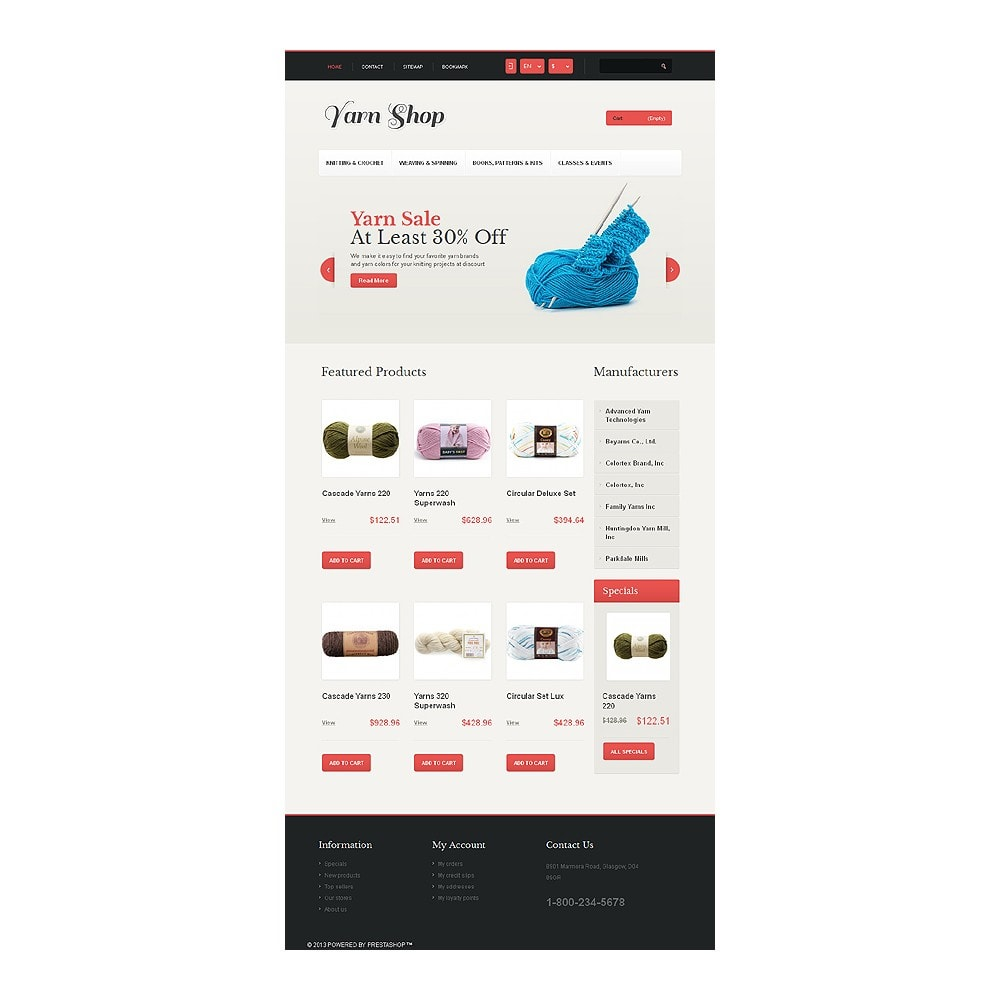 theme - Enfants & Jouets - Responsive Yarn Shop - 8