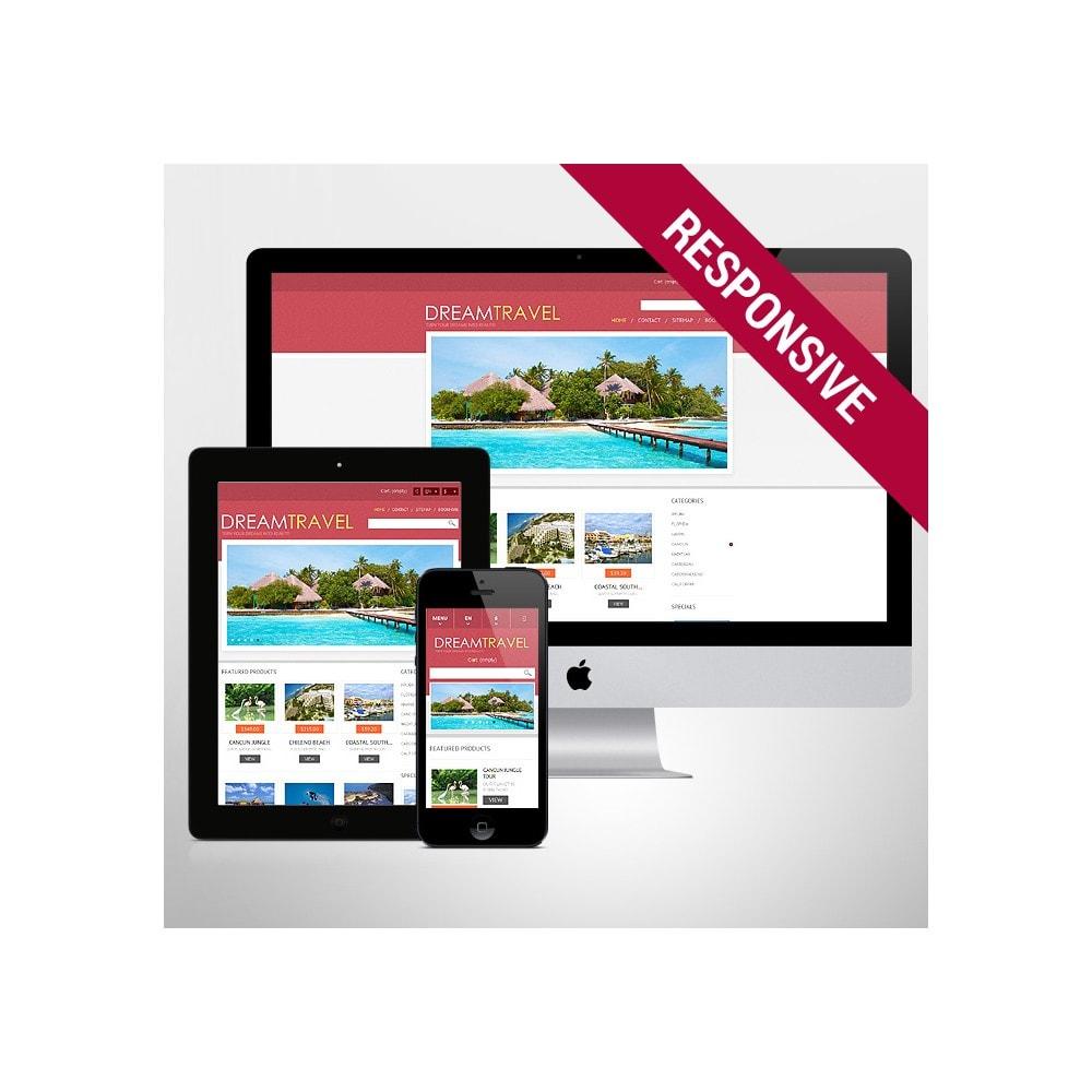 theme - Спорт и Путешествия - Dream Travel Store - 1
