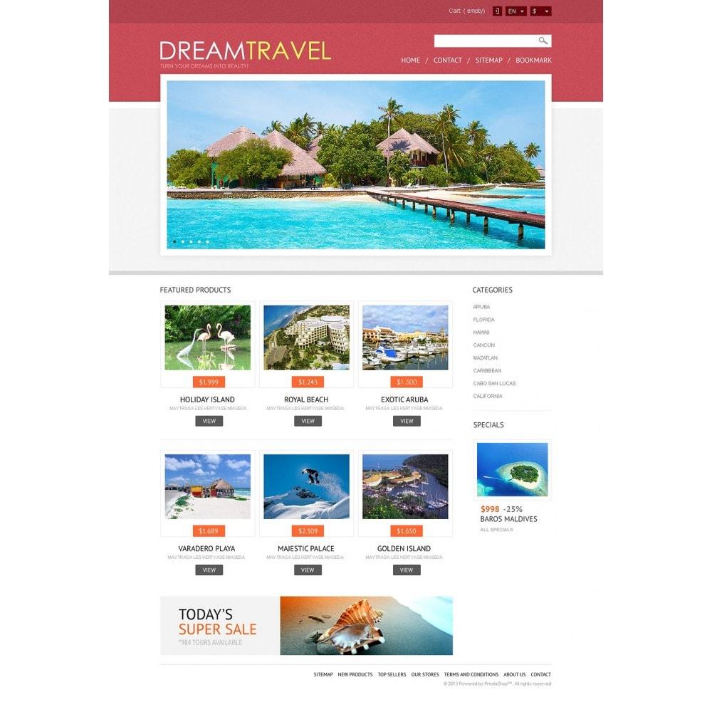 theme - Спорт и Путешествия - Dream Travel Store - 5
