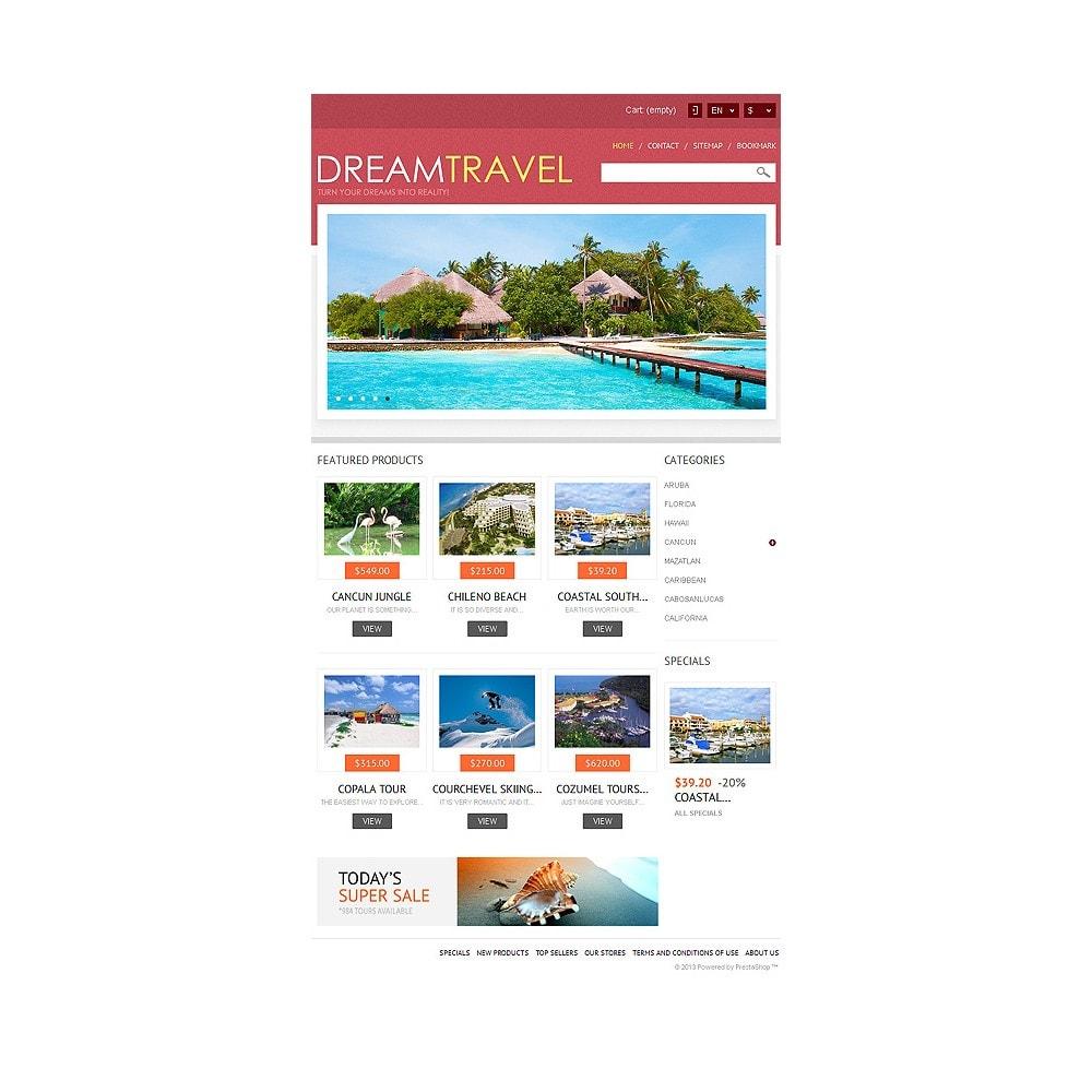 theme - Спорт и Путешествия - Dream Travel Store - 8