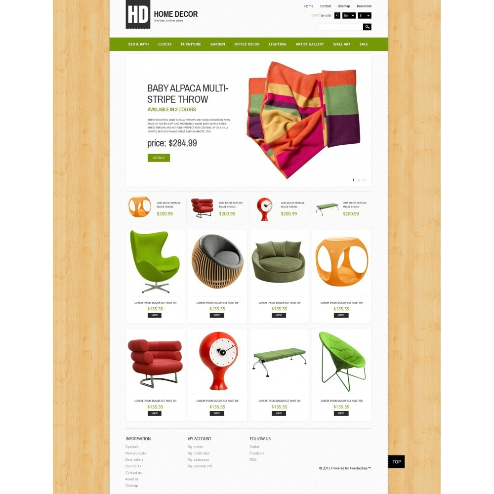theme - Arte & Cultura - Responsive Home Decor Store - 4