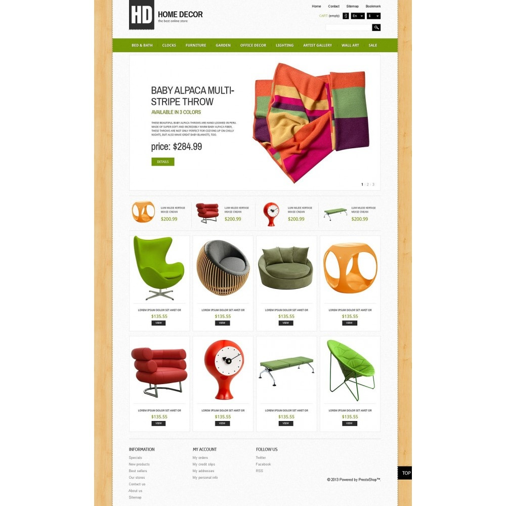 theme - Arte & Cultura - Responsive Home Decor Store - 5