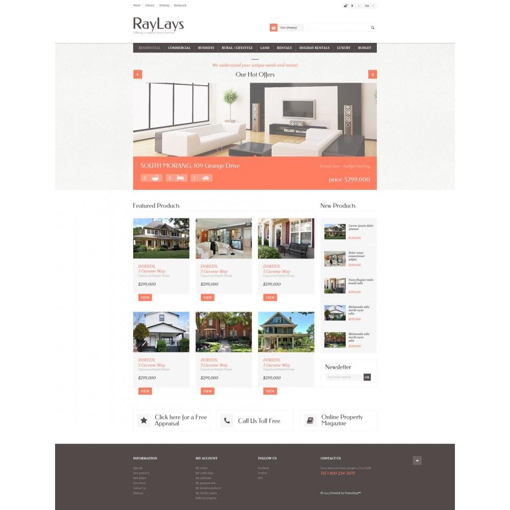 theme - Temas PrestaShop - Responsive Real Estate Store - 4